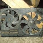 Вентилятор радиатора и кондиционера Passat B6