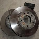 Передние тормозные диски Туарег