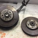 Передние тормозные диски Ауди Q5