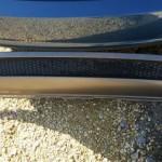 Накладка на задний бампер Ауди A5 Спортбэк